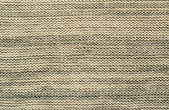 Gray knitted fabric Stock Photography