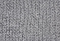 Gray knitted fabric Stock Photos