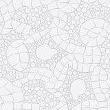 Gray knitted seamless vector pattern  Royalty Free Stock Image