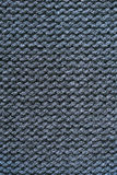 Gray knitted texture background Stock Photos