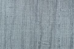 Gray knitted texture for the whole frame Royalty Free Stock Photos