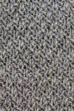 Gray knitting Royalty Free Stock Image