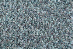Gray knitting background texture Royalty Free Stock Photo