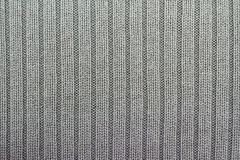 Gray knitting background vertical columns royalty free stock images