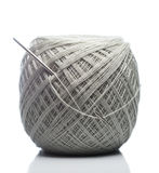 Gray Knitting Roll foto de stock