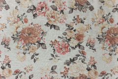 Gray knitwear floral Royalty Free Stock Photography