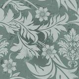 gray kwiecisty wzór Obrazy Royalty Free