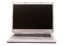 Gray Laptop Stock Photography