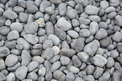 Gray lava rocks on beach Royalty Free Stock Images