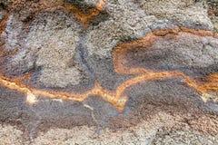 Gray lava stone at the Haleakala volcano in Maui, Hawaii Royalty Free Stock Photography