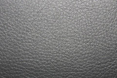 Gray leather background Stock Images
