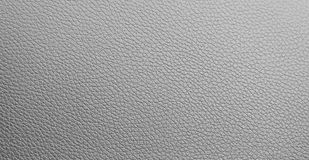 Gray leather texture. Stock Photo