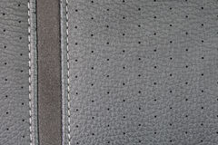 Gray  leather texture Stock Photo