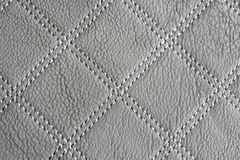 Gray Leather Texture Wallpaper royalty-vrije stock afbeelding