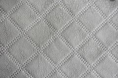 Gray Leather Texture Wallpaper stock foto's