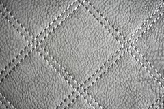 Gray Leather Texture Wallpaper stock afbeelding