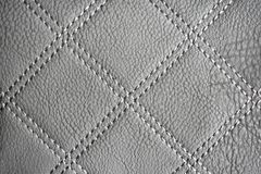 Gray Leather Texture Wallpaper royalty-vrije stock foto's
