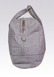Gray leather woman bag Royalty Free Stock Photos