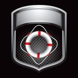 Gray lifering crest Royalty Free Stock Photos