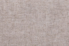 Gray linen cloth canvas background Stock Image