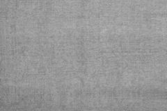 Gray linen fabric texture or background stock photo