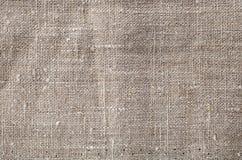 Gray linen texture Stock Photography