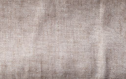Gray linen texture. Close up of gray linen textile Royalty Free Stock Photos