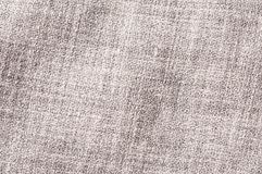 Gray linnen viscose polyester mix texture. Close up of gray linnen viscose polyester mix texture, woven pattern Royalty Free Stock Image