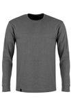 Gray  long sleeve t-shirt Royalty Free Stock Image