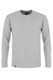 Gray  long sleeve t-shirt Stock Photo