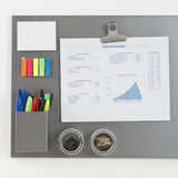 Gray Magnetic Board Royalty Free Stock Photos