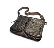 Gray male bag-1 Stock Photography