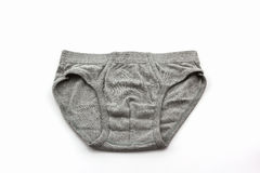 Gray Male underwear. Royalty Free Stock Image