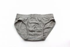 Gray Male underwear. Royalty Free Stock Image