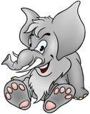 Gray Mammoth Stock Photography