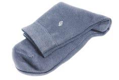 Gray man's sock Royalty Free Stock Photography