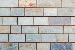 Gray marble brick walls background Royalty Free Stock Images