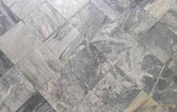 Gray marble decor tiles Royalty Free Stock Photography