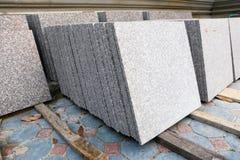Gray Marble pour la construction Photos libres de droits