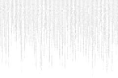 Gray matrix background computer generated Royalty Free Stock Photos