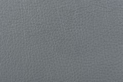 Gray Matte Patterned Faux Leather Texture arkivfoton