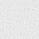 The gray maze Stock Photography