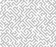 Gray maze background Royalty Free Stock Images