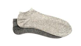 Gray Men S Socks Royalty Free Stock Image