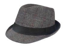 Gray Mens Hat foto de archivo libre de regalías