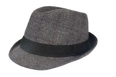 Gray Mens Hat Royalty Free Stock Photo