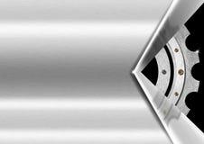 Gray Metal Background avec la vitesse Photos libres de droits
