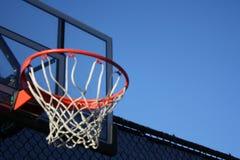 Gray Metal Frame Basketball Hoop System royalty free stock image