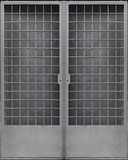 Gray Metal Gate Fotos de Stock