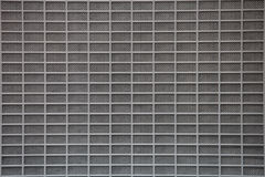 Gray metal grid Royalty Free Stock Image